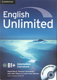 English Unlimited B1+